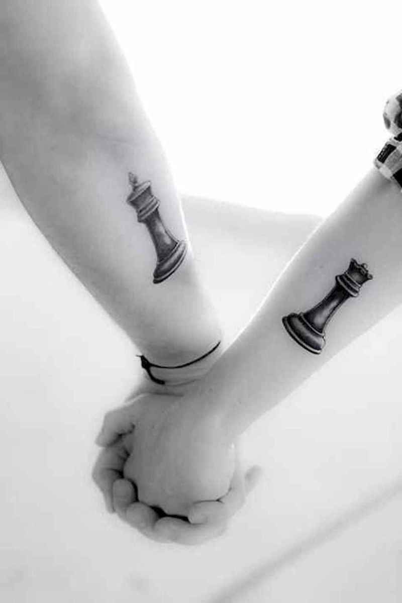 58 Creative Couple Tattoos That Celebrate Love's Eternal Bond