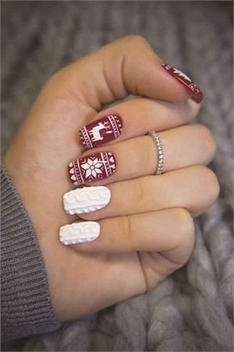 75 Easy Winter Nail Art Ideas