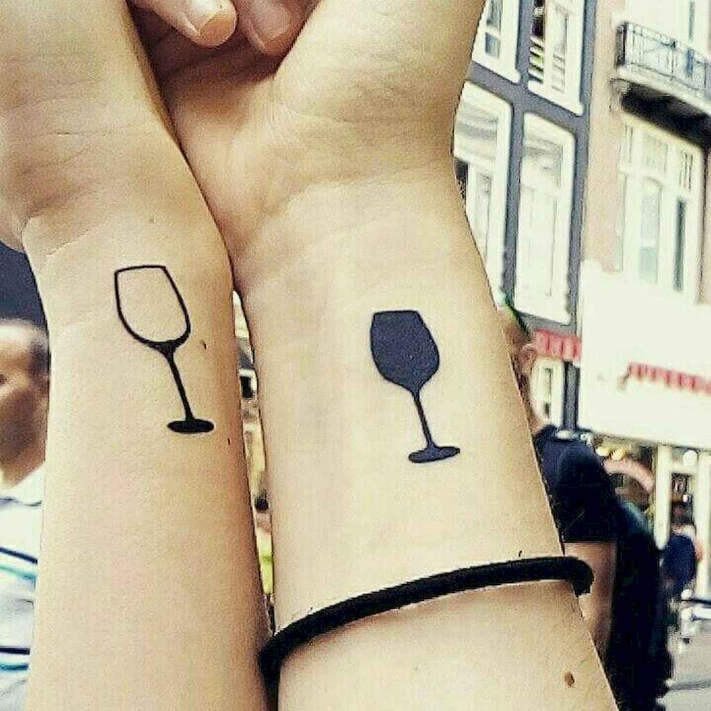 01 Awesome Small Best Friend Tattoo Designs Ideas
