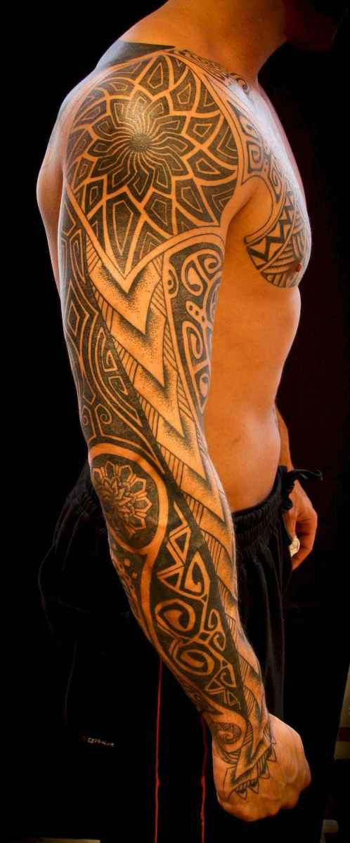 02 Amazing Sleeve Tattoos Ideas for Guys that Look Masculine