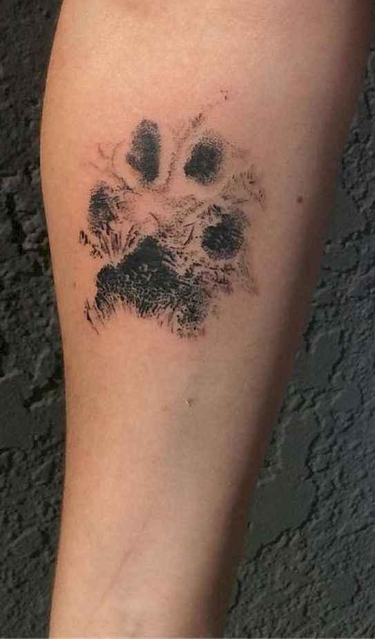 03 Cute Paw Print Tattoo Designs Ideas You Must Love