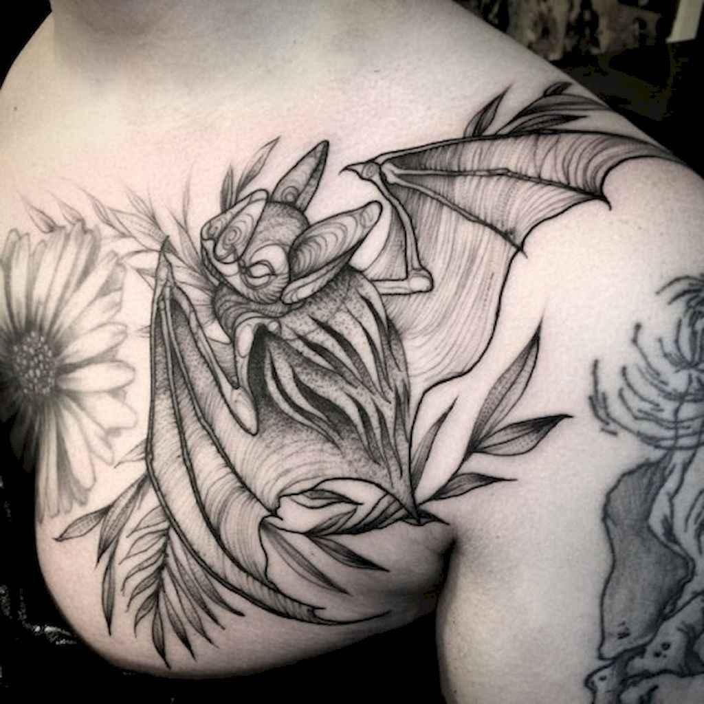 03 Unique Bat Tattoo Designs Ideas