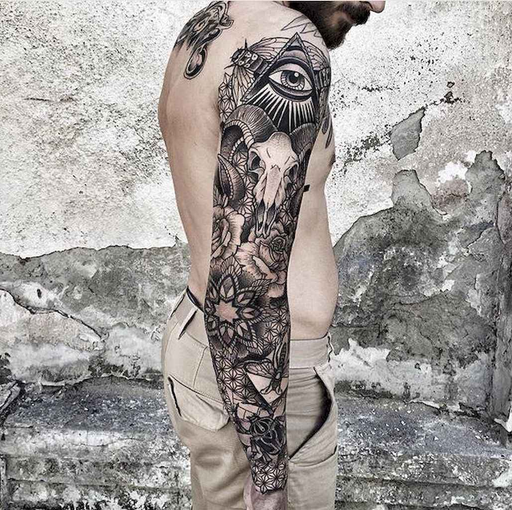 04 Amazing Sleeve Tattoos Ideas for Guys that Look Masculine