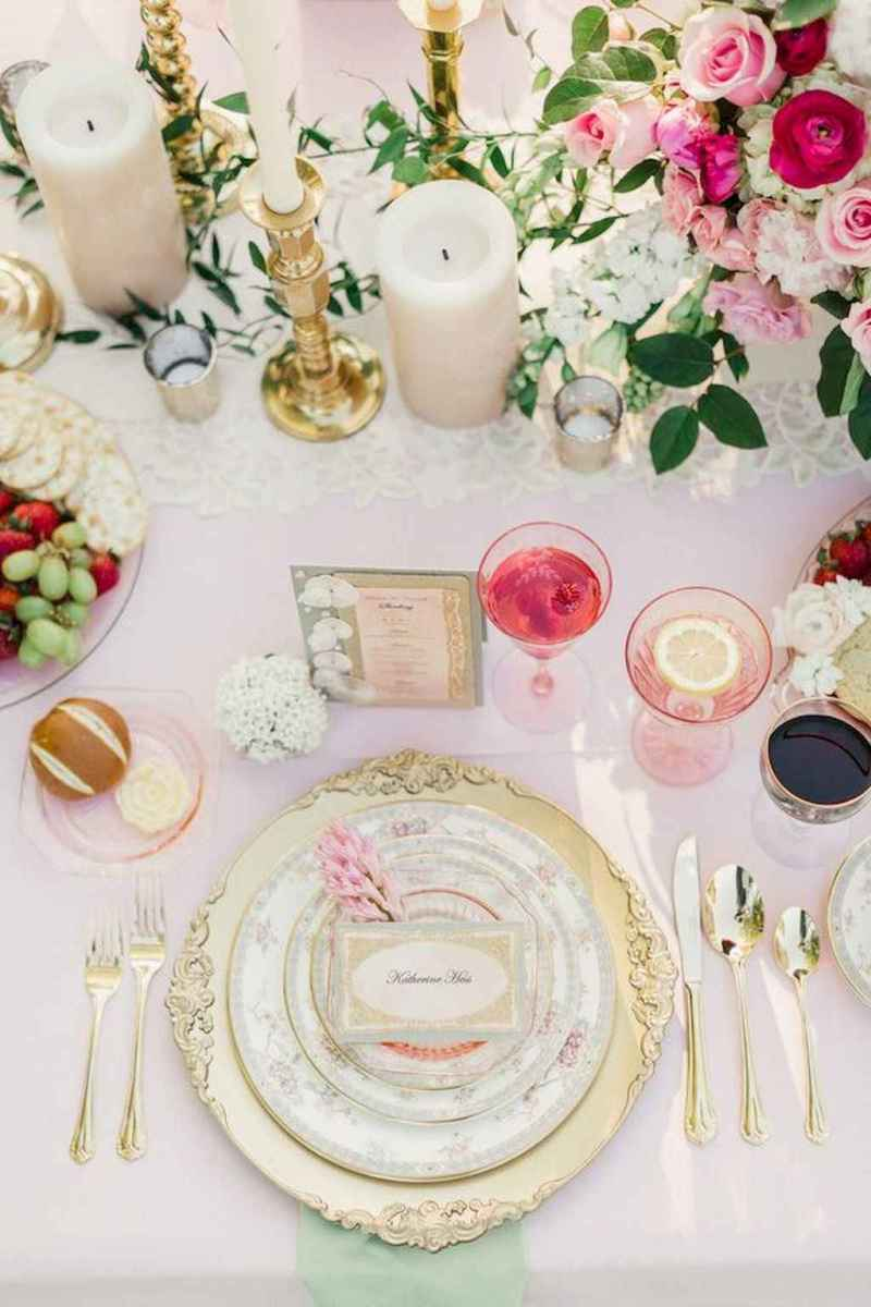 05 Beautiful Pastel Wedding Decor Ideas for the Spring