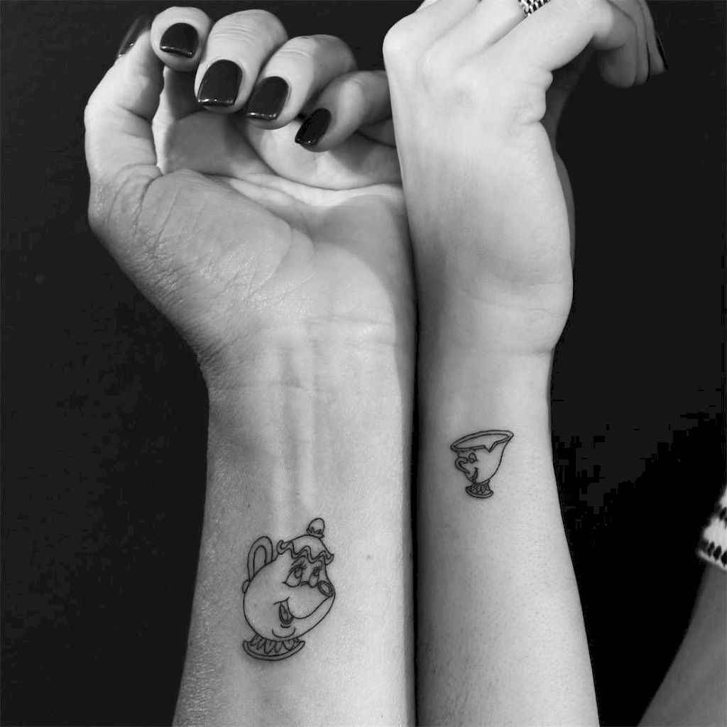 06 Awesome Small Best Friend Tattoo Designs Ideas