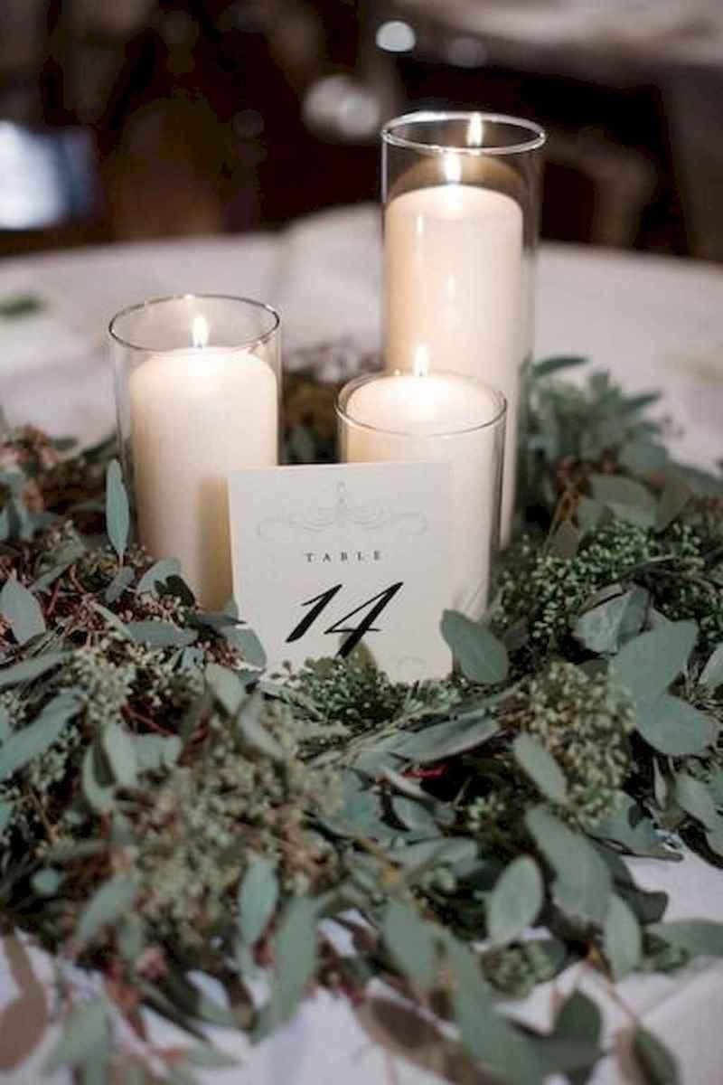06 Romantic White Flower Centerpiece Decor Ideas