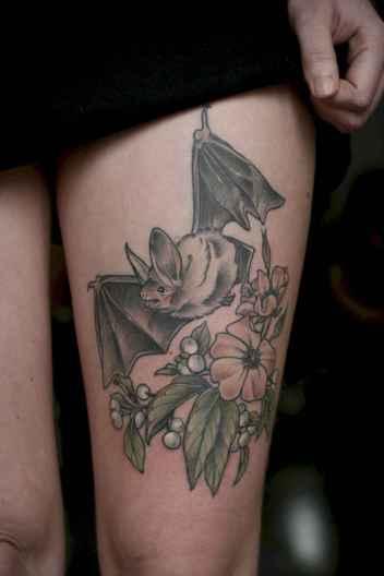 07 Unique Bat Tattoo Designs Ideas