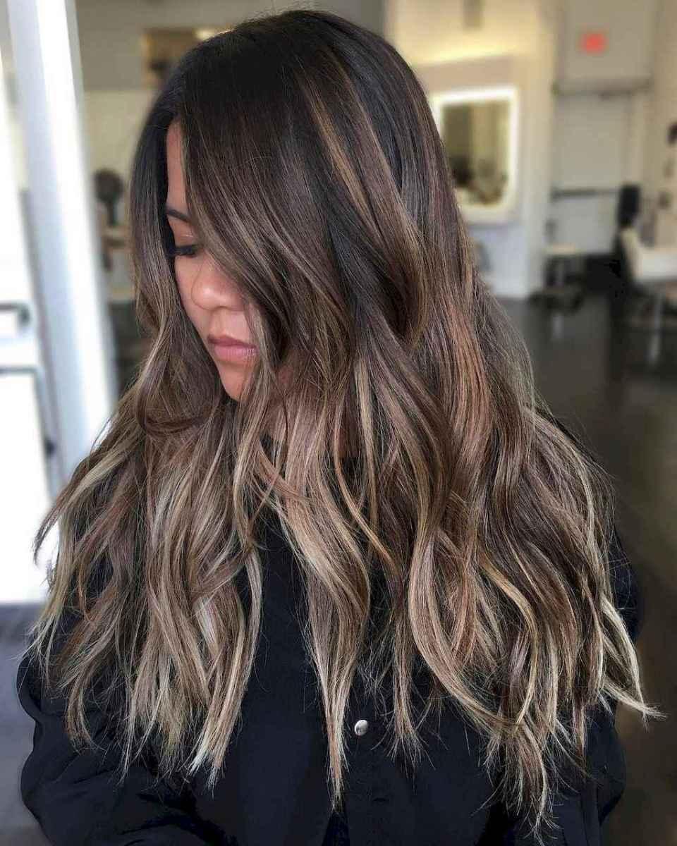 09 Beautiful Brunette Balayage Hair Color Ideas