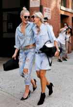 10 Simple and Cute Outfits Ideas with Double Denim