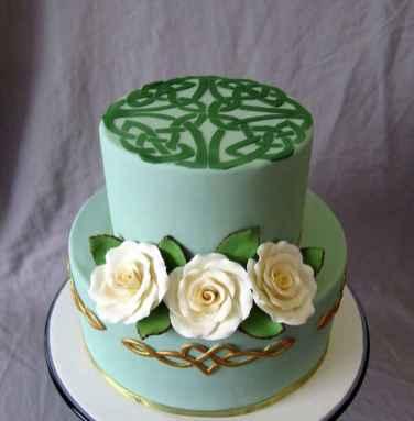 13 Green Wedding Cake Inspiration with Classy Design