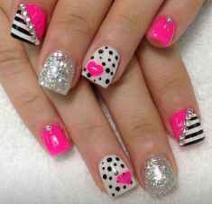 18 Cute Nail Art Designs Ideas for Your Inspiration