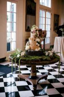 18 Green Wedding Cake Inspiration with Classy Design