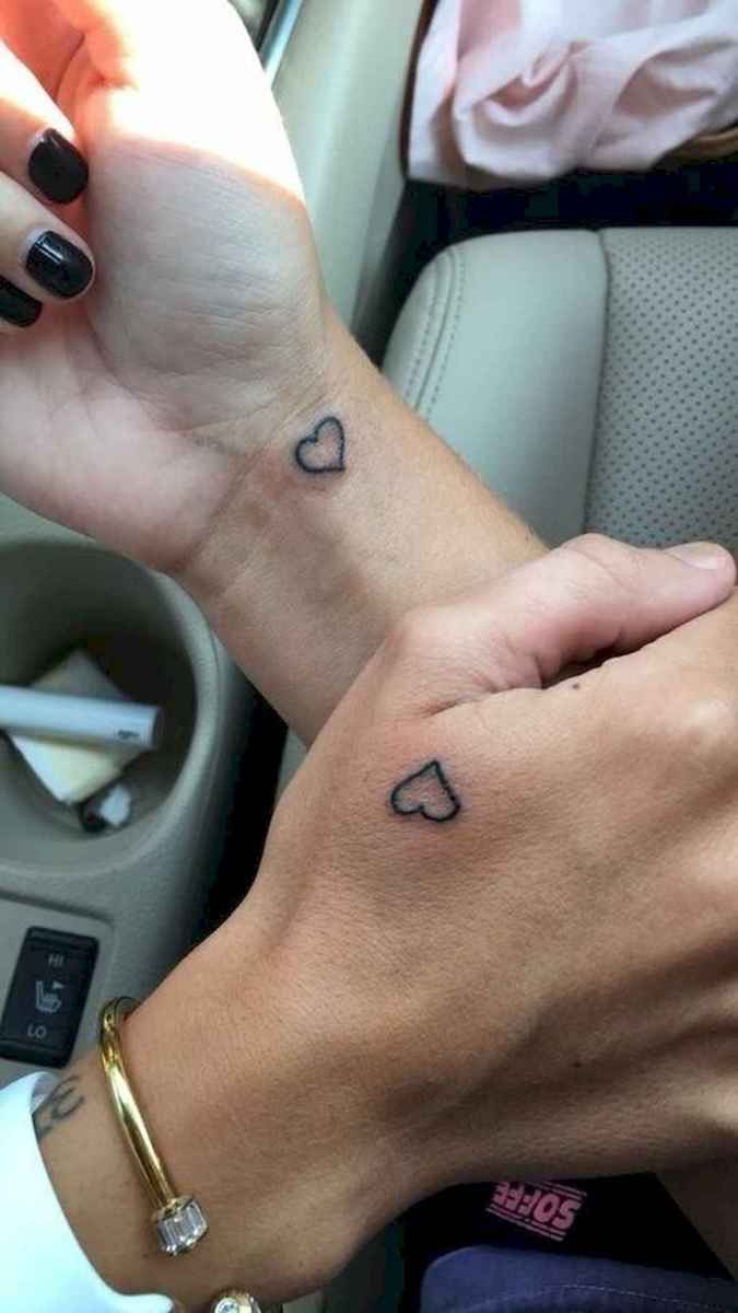 19 Awesome Small Best Friend Tattoo Designs Ideas