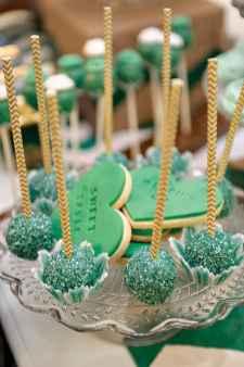 19 Green Wedding Cake Inspiration with Classy Design