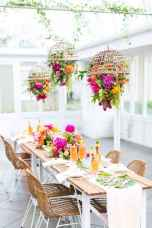 20 Rustic Wedding Suspended Flowers Decor Ideas