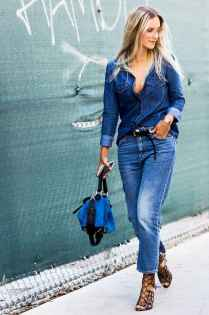 20 Simple and Cute Outfits Ideas with Double Denim