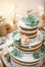 22 Green Wedding Cake Inspiration with Classy Design