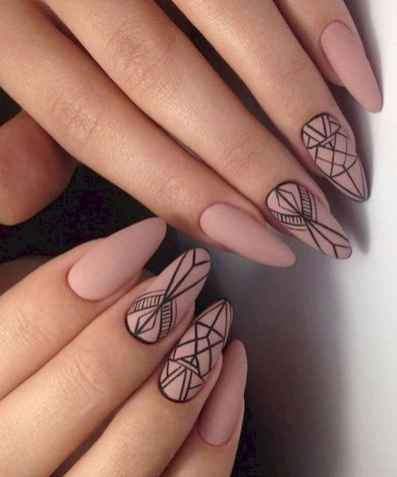 outstanding classy nail design