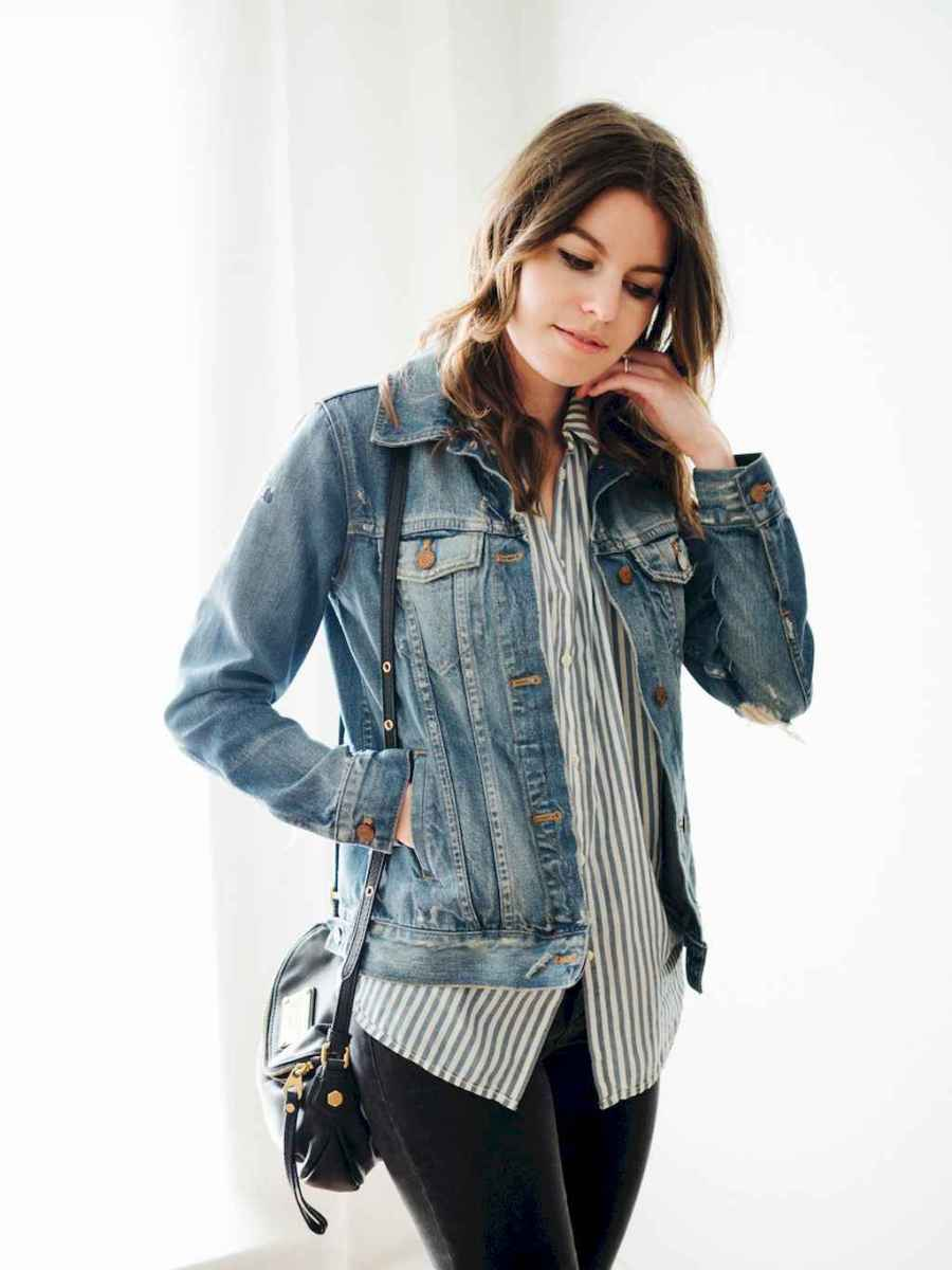 24 Simple and Cute Outfits Ideas with Double Denim