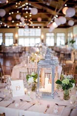 25 Romantic White Flower Centerpiece Decor Ideas