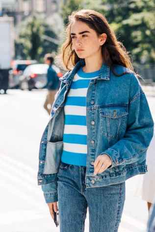 25 Simple and Cute Outfits Ideas with Double Denim