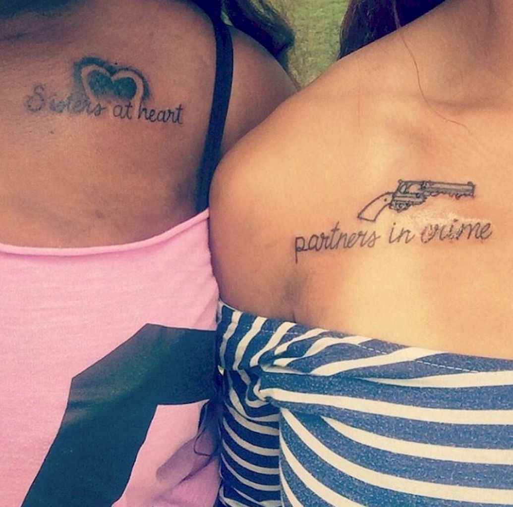 26 Awesome Small Best Friend Tattoo Designs Ideas