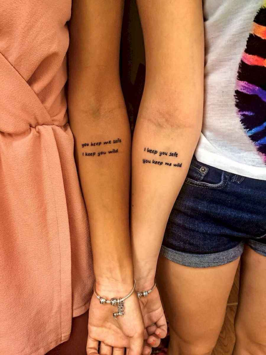 29 Awesome Small Best Friend Tattoo Designs Ideas