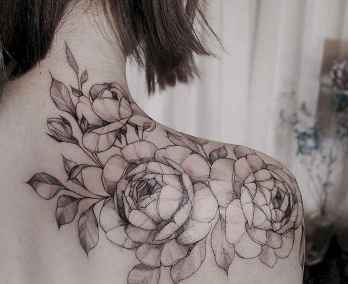 29 Traditional Rose Outline Tattoo Designs Ideas