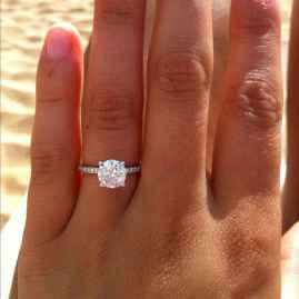 30 Simple Engangement Ring for Every Kind Women