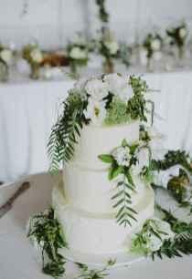 31 Green Wedding Cake Inspiration with Classy Design