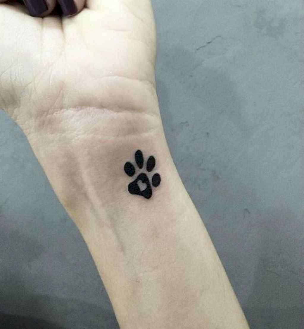 a3c6ba1248edd 32 Cute Paw Print Tattoo Designs Ideas You Must Love - Bellestilo.com