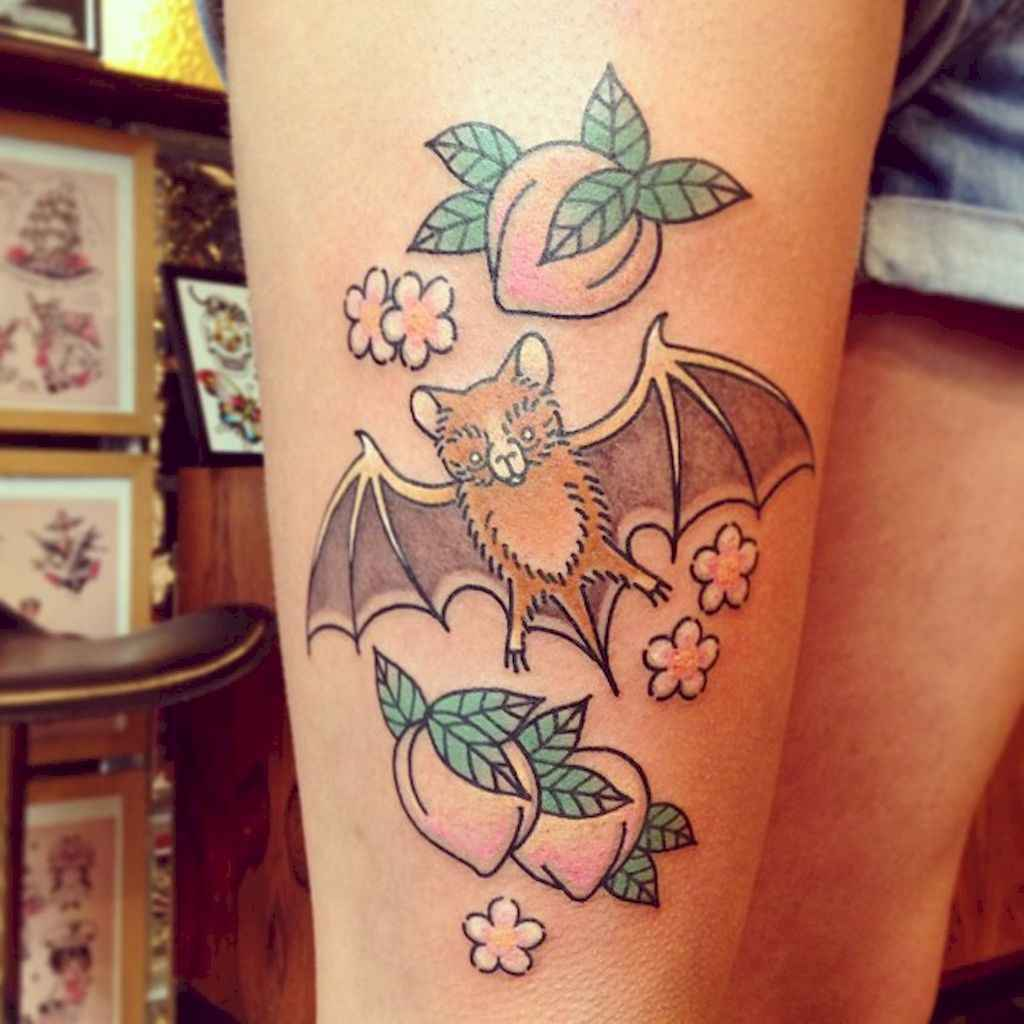 32 Unique Bat Tattoo Designs Ideas