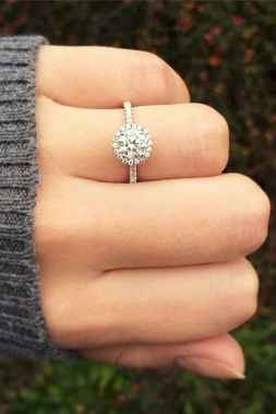 33 Simple Engangement Ring for Every Kind Women