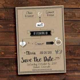 34 Unique Save The Date Ideas