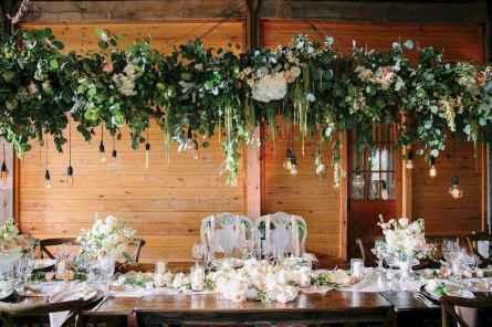 36 Rustic Wedding Suspended Flowers Decor Ideas