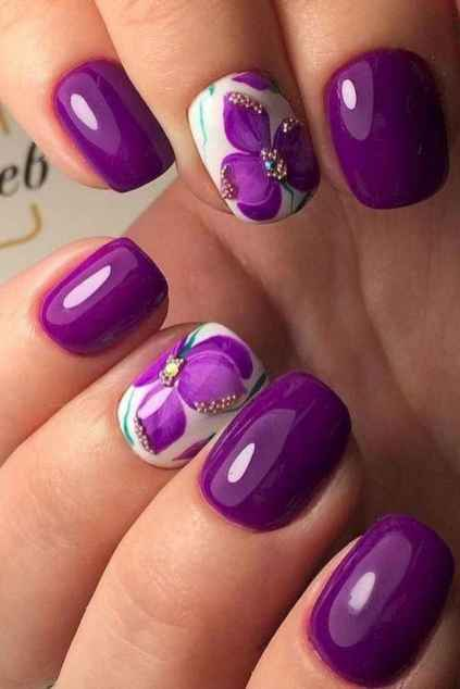46 Wonderful Nail Art Ideas All Girls Should Try