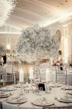 67 Romantic White Flower Centerpiece Decor Ideas