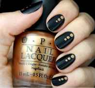 03 Elegant Black Nail Art Designs that You'll Love