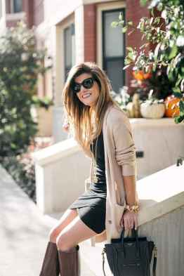 06 Beautiful Fall Outfits Ideas With Cardigan