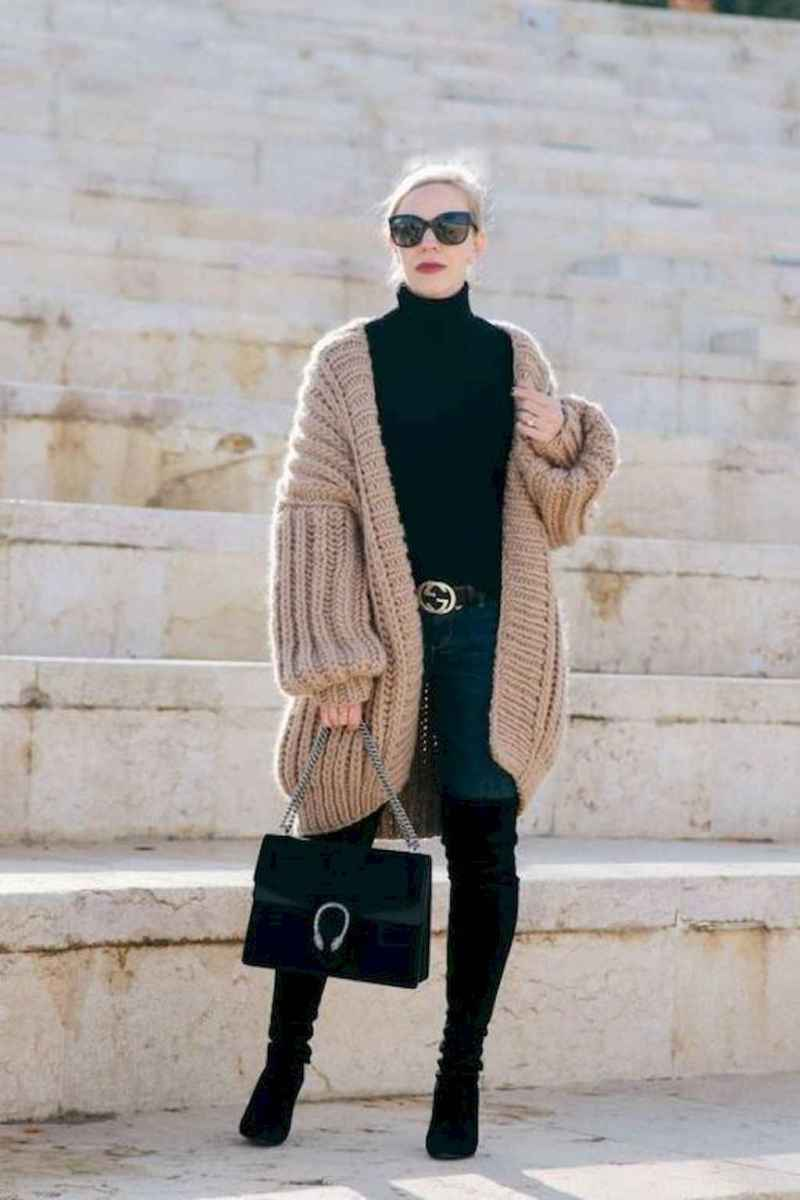 12 Trending Winter Outfits Oversized Poncho Outfit Ideas