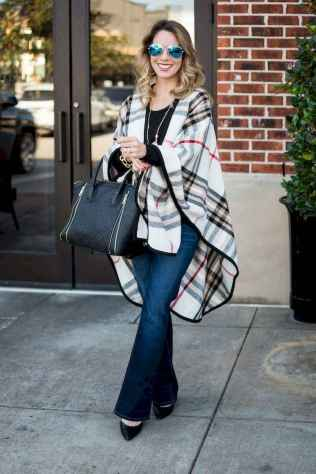 13 Trending Winter Outfits Oversized Poncho Outfit Ideas