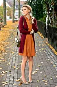 14 Beautiful Fall Outfits Ideas With Cardigan