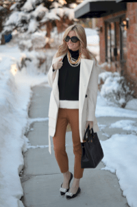 22 Elegant Work Outfits with Flats Every Woman Should Own