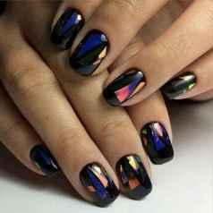 52 Elegant Black Nail Art Designs that You'll Love