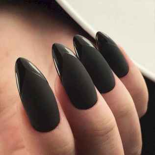 54 Elegant Black Nail Art Designs that You'll Love