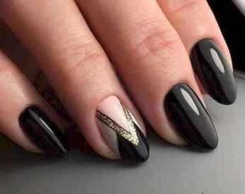 56 Elegant Black Nail Art Designs that You'll Love
