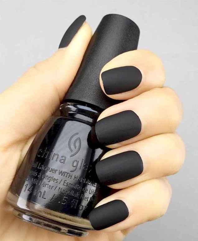 57 Elegant Black Nail Art Designs that You'll Love