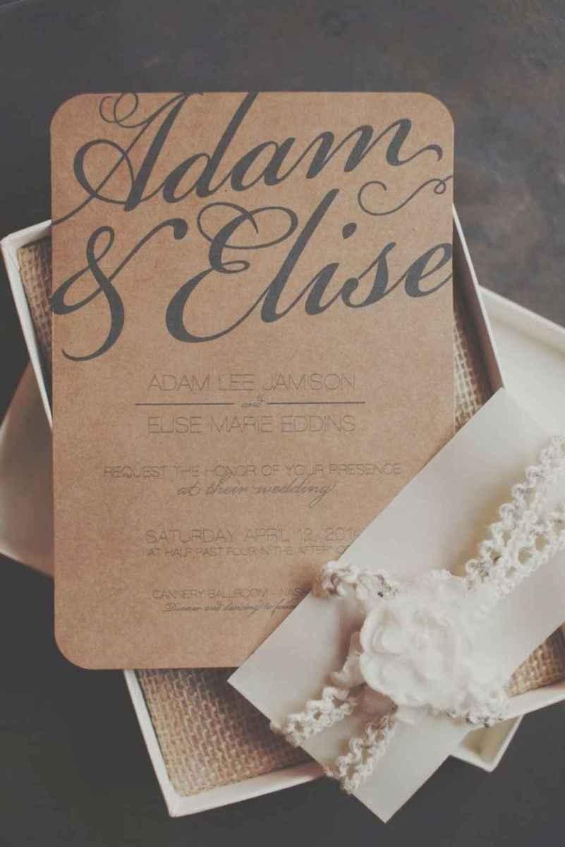 01 Simple Inexpensive Wedding Invitations Ideas