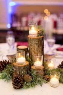 07 Beautiful Simple Winter Wedding Centerpieces Decor Ideas