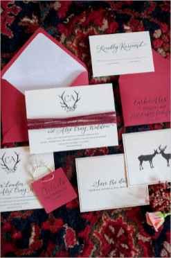 08 Elegant Christmas Wedding Invitations Ideas